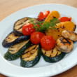 Fried vegetables on grill — Stock Photo #2304275