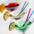 Stock Photo: Three cocktails