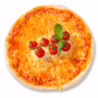 Pizza and italian kitchen — Stock Photo