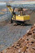 The big dredge in mine — Stock Photo