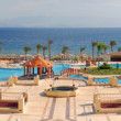 Typical hotel on the bank of Red sea — Stock Photo #2403734