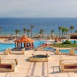 Typical hotel on the bank of Red sea — Stock Photo
