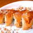 Pies from flaky pastry — 图库照片