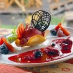 Fruit ice-cream — Stock Photo #2404508