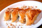 Tartes de pâte feuilletée — Photo