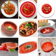 Tomato red soup — Stock Photo