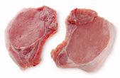 Vepřový steak s kamenem — Stock fotografie