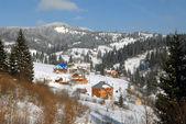 House in Carpathians — Stock Photo