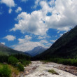 The mountain river Baksan — Stockfoto