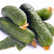 Royalty-Free Stock Photo: Fresh cucumbers