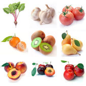 Fruit & vegetables — Stock Photo