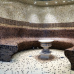 Roman bath — Stock Photo