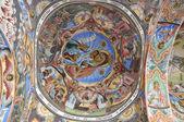 Monastery interior - paintings — Stock Photo