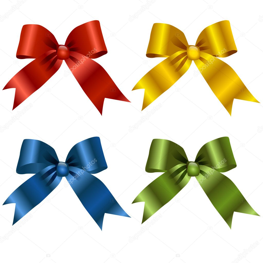 Gift Ribbon Vector Free Download Gift Ribbon Bow — Vector by