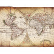 Vintage map - Stock Photo