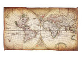 Vintage map — Stock Photo