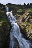 Mountain waterfalls — Stock Photo