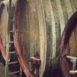 Barrels of wine - Stock Photo