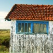 Old fisherman hut - Stock Photo
