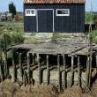Fisherman house - Stock Photo