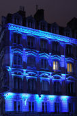 Blue facade — Foto de Stock