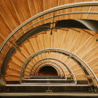 Royalty-Free Stock Photo: Wooden staircase