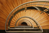 Wooden staircase — Foto de Stock