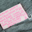 Stock Photo: Clothing label tag
