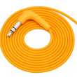 Wrapped orange cable — 图库照片