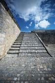 Stone staircase — Stock Photo