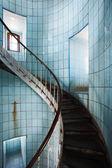 Indoor spiral staircase — ストック写真