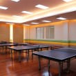 Table tennis field — Stock Photo