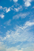 Bule and cloudy sky — Stock Photo