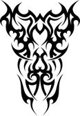 Tribal tattoo — Stock Vector