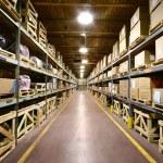 Warehouse Interior — Stock Photo