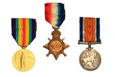 World War One Medals. — Stock Photo