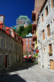 Vecchia quebec city — Foto Stock