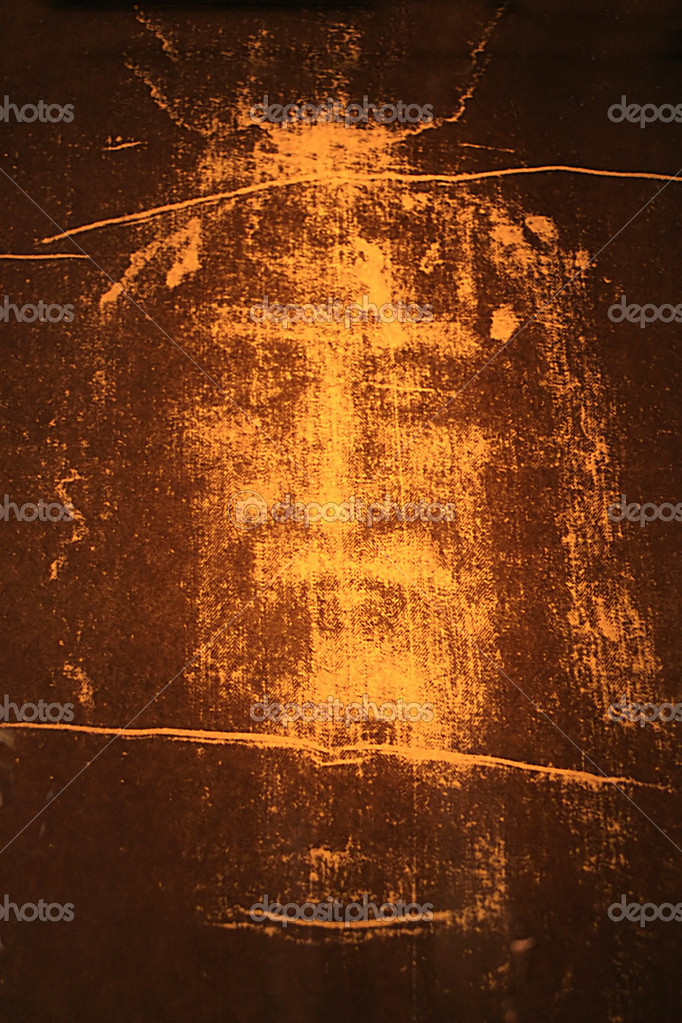 Image of Jesus Christ from the Shroud of Turin  Foto de Stock   #2169617