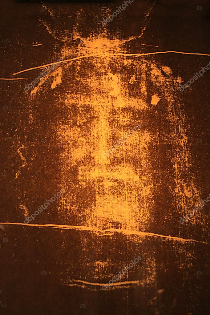 Image of Jesus Christ from the Shroud of Turin  Stockfoto #2169617