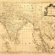 Old Map of Indiand Southeast Asia — Stock Photo #2187455