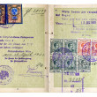 Old European Passport. — Stock Photo