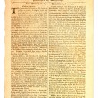 Extremely old newspaper. — Stock Photo #2187524