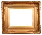 Moldura de ouro arte — Fotografia Stock