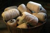 Basket of String — Stock Photo