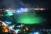 Niagara Falls at Night. — Stock Photo