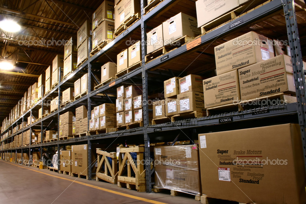 The parts warehouse of a major manufacturer — Stock Photo #2200805