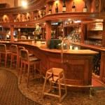 Hotel Bar — Stock Photo