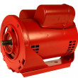 AC Electric Motor - Stock Photo