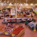 Modern Supermarket View. — Stock Photo