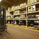 interior do armazém — Foto Stock